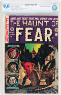 Golden Age (1938-1955):Horror, Haunt of Fear #21 White Mountain pedigree (EC, 1953) CBCS VF/NM 9.0White pages....