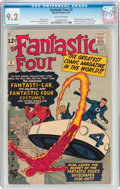 Silver Age (1956-1969):Superhero, Fantastic Four #3 (Marvel, 1962) CGC NM- 9.2 Off-white pages....