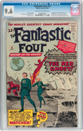 Silver Age (1956-1969):Superhero, Fantastic Four #13 (Marvel, 1963) CGC NM+ 9.6 Off-white to whitepages....