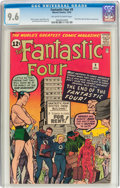 Silver Age (1956-1969):Superhero, Fantastic Four #9 (Marvel, 1962) CGC NM+ 9.6 Off-white pages....