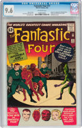 Silver Age (1956-1969):Superhero, Fantastic Four #11 (Marvel, 1963) CGC NM+ 9.6 Off-white pages....