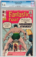 Silver Age (1956-1969):Superhero, Fantastic Four #14 (Marvel, 1963) CGC NM+ 9.6 Off-white to whitepages....