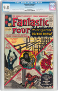 Silver Age (1956-1969):Superhero, Fantastic Four #17 (Marvel, 1963) CGC NM/MT 9.8 Off-white to whitepages....