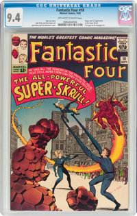 Fantastic Four #18 (Marvel, 1963) CGC NM 9.4 Off-white to white pages