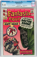 Silver Age (1956-1969):Superhero, Fantastic Four #16 (Marvel, 1963) CGC NM 9.4 Off-white pages....