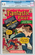 Silver Age (1956-1969):Superhero, Fantastic Four #22 Pacific Coast pedigree (Marvel, 1964) CGC NM/MT 9.8 Off-white to white pages....