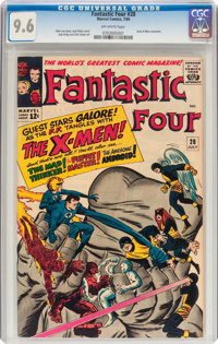 Fantastic Four #28 (Marvel, 1964) CGC NM+ 9.6 Off-white pages