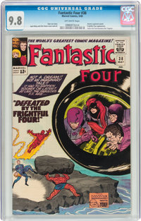 Fantastic Four #38 (Marvel, 1965) CGC NM/MT 9.8 Off-white pages