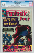 Silver Age (1956-1969):Superhero, Fantastic Four #41 (Marvel, 1965) CGC NM/MT 9.8 White pages....