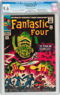 Silver Age (1956-1969):Superhero, Fantastic Four #49 (Marvel, 1966) CGC NM+ 9.6 Off-white to whitepages....