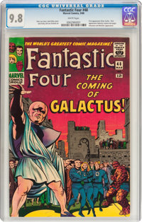 Fantastic Four #48 (Marvel, 1966) CGC NM/MT 9.8 White pages