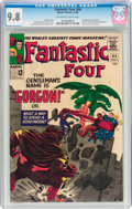 Silver Age (1956-1969):Superhero, Fantastic Four #44 (Marvel, 1965) CGC NM/MT 9.8 Off-white to whitepages....