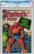 Silver Age (1956-1969):Superhero, Fantastic Four #51 (Marvel, 1966) CGC NM+ 9.6 White pages....