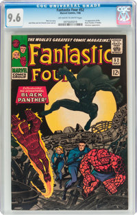 Fantastic Four #52 (Marvel, 1966) CGC NM+ 9.6 Off-white to white pages