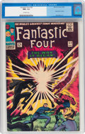 Silver Age (1956-1969):Superhero, Fantastic Four #53 (Marvel, 1966) CGC NM+ 9.6 Off-white pages....