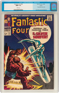 Fantastic Four #55 Boston pedigree (Marvel, 1966) CGC MT 9.9 White pages