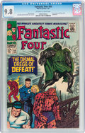 Silver Age (1956-1969):Superhero, Fantastic Four #58 (Marvel, 1967) CGC NM/MT 9.8 Off-white to whitepages....