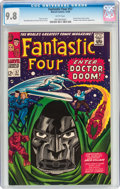 Silver Age (1956-1969):Superhero, Fantastic Four #57 (Marvel, 1966) CGC NM/MT 9.8 White pages....