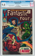 Silver Age (1956-1969):Superhero, Fantastic Four #65 (Marvel, 1967) CGC NM/MT 9.8 White pages....