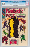 Silver Age (1956-1969):Superhero, Fantastic Four #67 (Marvel, 1967) CGC NM/MT 9.8 White pages....