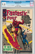 Silver Age (1956-1969):Superhero, Fantastic Four #69 (Marvel, 1967) CGC NM/MT 9.8 White pages....