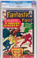 Silver Age (1956-1969):Superhero, Fantastic Four #34 (Marvel, 1965) CGC NM 9.4 Cream to off-white pages....
