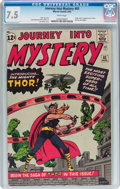 Silver Age (1956-1969):Superhero, Journey Into Mystery #83 (Marvel, 1962) CGC VF- 7.5 White pages....