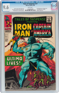 Tales of Suspense #77 (Marvel, 1966) CGC NM+ 9.6 White pages