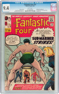 Silver Age (1956-1969):Superhero, Fantastic Four #14 (Marvel, 1963) CGC NM 9.4 White pages....