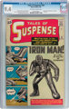 Tales of Suspense #39 (Marvel, 1963) CGC NM 9.4 Off-white to white pages