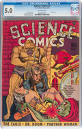 Golden Age (1938-1955):Science Fiction, Science Comics #4 (Fox, 1940) CGC VG/FN 5.0 Off-white pages....