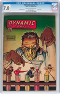 Golden Age (1938-1955):Adventure, Dynamic Comics #11 (Chesler, 1944) CGC FN/VF 7.0 Cream to off-white pages....