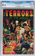 Golden Age (1938-1955):Horror, Terrors of the Jungle #17 (#1) Bethlehem pedigree (StarPublications, 1952) CGC VF+ 8.5 Off-white to white pages....