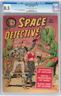 Golden Age (1938-1955):Science Fiction, Space Detective #2 (Avon, 1951) CGC VF+ 8.5 Cream to off-whitepages....