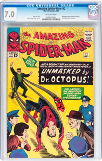 The Amazing Spider-Man #12 (Marvel, 1964) CGC FN/VF 7.0 Off-white pages