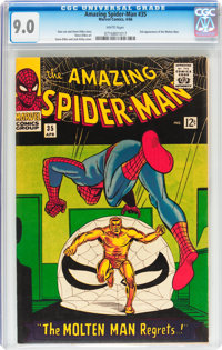 The Amazing Spider-Man #35 (Marvel, 1966) CGC VF/NM 9.0 White pages