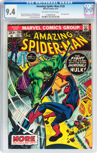 The Amazing Spider-Man #120 (Marvel, 1973) CGC NM 9.4 Off-white to white pages