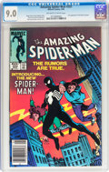 Modern Age (1980-Present):Superhero, The Amazing Spider-Man #252 (Marvel, 1984) CGC VF/NM 9.0 Off-white to white pages....