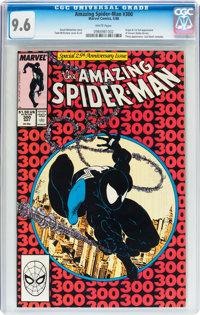 The Amazing Spider-Man #300 (Marvel, 1988) CGC NM+ 9.6 White pages