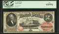 Large Size:Legal Tender Notes, Fr. 48 $2 1878 Legal Tender PCGS New 62PPQ.. ...