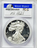 Modern Bullion Coins, 2015-W $1 Silver Eagle, First Strike, Standish Signature, PR70 Deep Cameo PCGS. PCGS Population (6790). NGC Census: (0)....