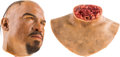 """Movie/TV Memorabilia:Props, A Prop Severed Head and Neck from """"Rambo"""" (aka """"Rambo 4"""")....(Total: 2 Items)"""