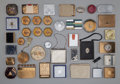 Decorative Arts, Continental:Other , Thirty-Eight Various Compacts. Circa 1930-1945.. Brands includingHoubigant, Mondaine, Coty, Bourgois. ... (Total: 38 Items)