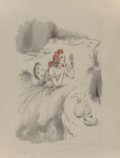 Prints:European Modern, Louis Icart (French, 1888-1950). Destin de Femme by ThérèseCastel, 1945. Portfolio of loose Holland Pannekoeck paper wi...