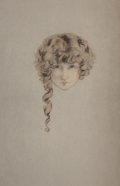 Fine Art - Work on Paper:Print, Louis Icart (French, 1888-1950). L'Ingénue Libertine byColette Willy, 1926. Leather bound volume with etchings on Rives...