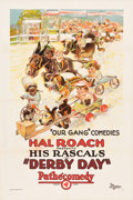 "Movie Posters:Comedy, Derby Day (Pathé, 1923). One Sheet (27.25"" X 41"").. ..."