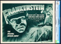 "Movie Posters:Horror, Frankenstein (Universal, R-1947). CGC Graded Title Lobby Card (11"" X 14"").. ..."