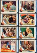 "Movie Posters:Drama, Untamed (MGM, 1929). CGC Graded Lobby Card Set of 8 (11"" X 14"")..... (Total: 8 Items)"