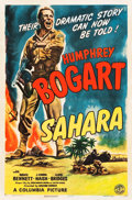 "Movie Posters:War, Sahara (Columbia, 1943). One Sheet (27"" X 41"") Style A.. ..."