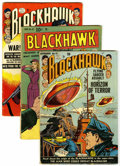 Silver Age (1956-1969):Adventure, Blackhawk Group (Quality/DC, 1950-65) Condition: Average GD.... (Total: 16 Comic Books)